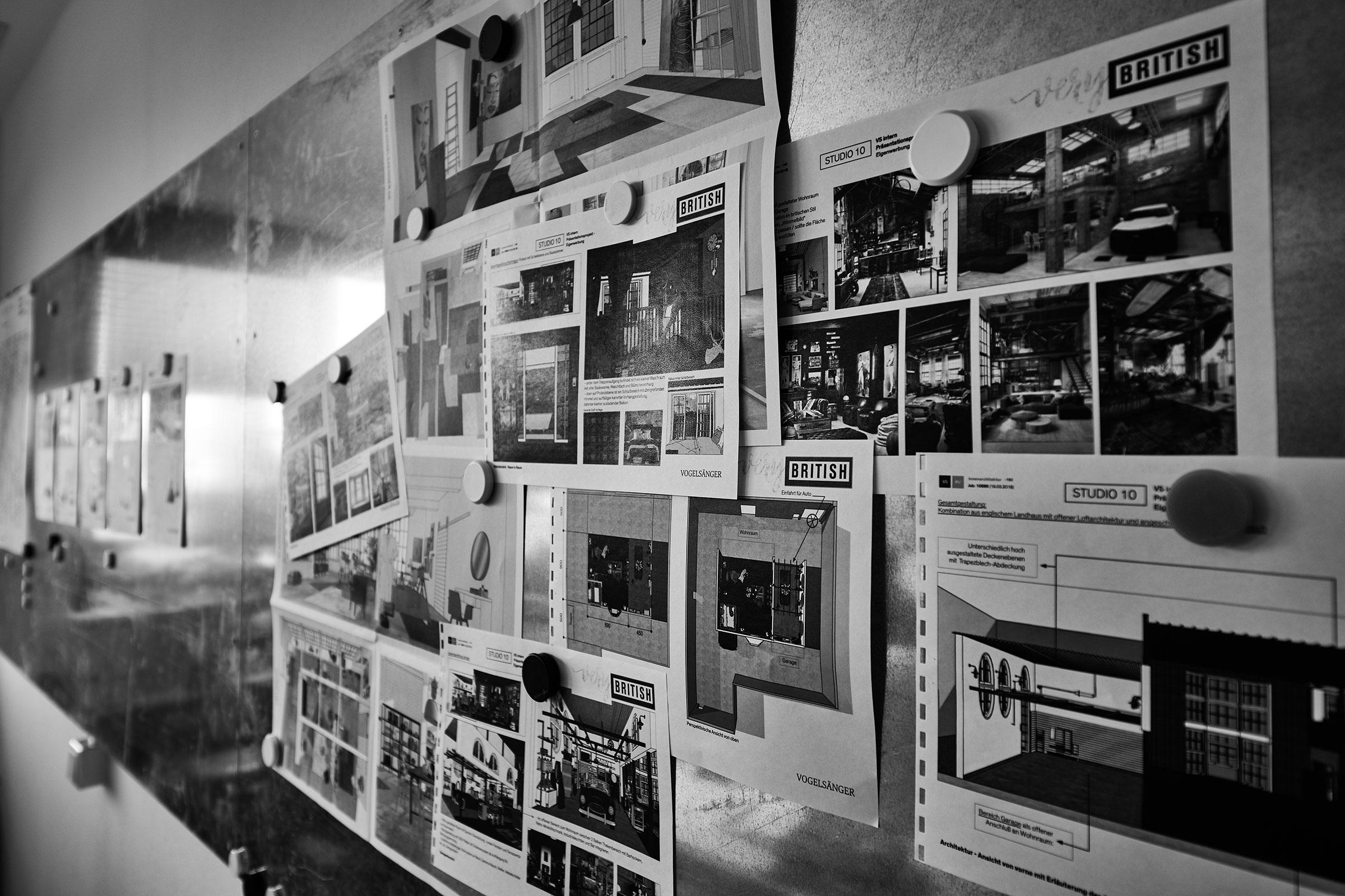 Innenarchitektur / Vogelsänger Studios